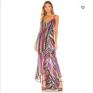 X REVOLVE Atienne Dress in Multi